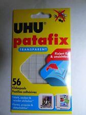 UHU. PATAFIX  56 Pastilles adhésives Transparentes