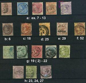Jamaika ex. 1860 - 1910, gestempelt! Bitte auswaehlen #856