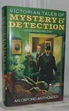 Michael Cox VICTORIAN TALES OF MYSTERY & DETECTION First ed Oxford Anthology DJ