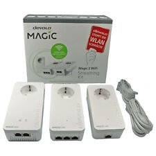 Devolo Magic 2 Powerline 3er Streaming Kit 2400Mbit 1x WLAN Wifi, 6x LAN Mesch