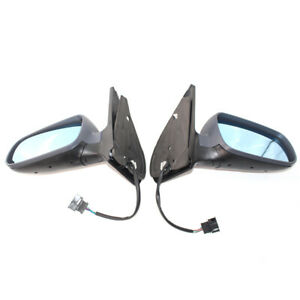 Pair of Electric Wing Side DOOR MIRROR ASSEMBLY For Volkswagen VW Golf Bora MK4