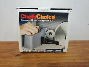 Chef's Choice International Diamond Hone Sharpener #601 For Food Slicer Blades