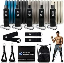 New listing Resistance Bands Set for Men - Build Muscle with Heavy Weight Exercise Bands - Q