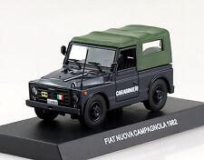 Fiat Nuova Campagnola Carabinieri Polizei 1982 1:43  Modellauto