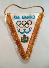 San Marino Delegation Olympic NOC Pennant Flag