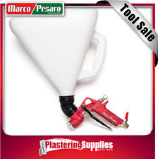 Marco Pesaro Texture Hopper Gun Sprayer Texture Spraying Render Plaster MP001
