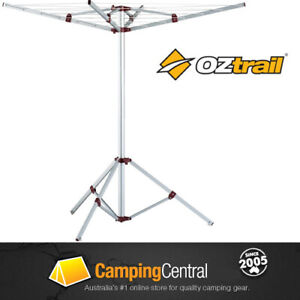 OZTRAIL PORTABLE CAMPING CLOTHESLINE CLOTHES LINE HANGER CLOTHING DRYER HANGING