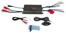 NEW Pyle PLMRMP3B Marine 800W 4 Channel iPod/MP3 Power Amp+Volume Remote control