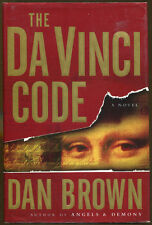 The Da Vinci Code by Dan Brown-First Edition/Dust Jacket-2003