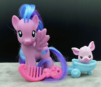 G4 My Little Pony FIM (2011) Flitterheart w/Friend and Accessories Brushable