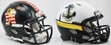 NAVY MIDSHIPMEN NCAA Riddell SPEED Mini Football Helmet *COMBO*