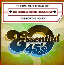 The Ballad Of Springhill / One For The Money - Cont (2016, CD Maxi Single NIEUW)