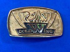 Vintage GoldWing Belt Buckle