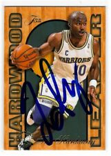 Tim Hardaway Signed 1995/96 Flair Card #9