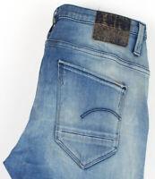 G-star Crudo Donna Arc 3D Affusolato Elasticizzato Jeans Taglia W25 L30 AGZ641