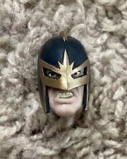 Marvel Legends BLACK KNIGHT HEAD - Captain Taskmaster Hydra Red Skull Zemo