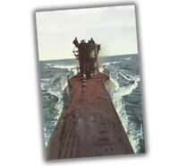 """War Photo submarine Germany U Boat type VII C Size WW2 """"4 x 6"""" inch W"""