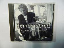 JOHN MC LAUGHLIN / TIME REMEMBERED - PLAYS BILL EVANS - CD VERVE