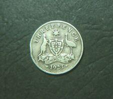1923 Australian Threepence, 3d