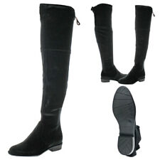 02e5dab4f19 Marc Fisher Humor2 Over The Knee BOOTS 195 Black Multi 7.5 US