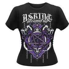 Asking Alexandria Demonic Girl's T-Shirt Black Large