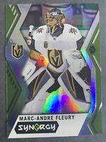 2017-18 Upper Deck Synergy Green #31 Marc-Andre Fleury Vegas Golden Knights SP