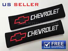 CHEVY SHOULDER PADS SEAT BELT 2PCS CAMARO IMPALA MALIBU SS Z28 CHEVROLET SP06