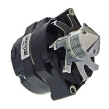 Tuff Stuff Alternator 7140FBULL6G; 10SI, 12SI 145 Amp Black for 71-86 Chevy