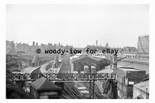 bb0332 - Birkenhead Central Railway Station , Cheshire in 1961 - photograph