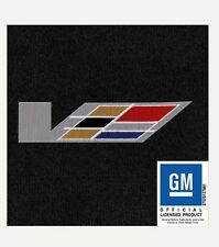 Cadillac CTS-V 2009 LLOYD ULTIMAT MATS! EBONY 4 PC MULTI COLOR V LOGO FRONT MATS
