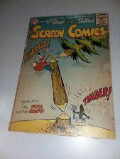 REAL SCREEN COMICS #102 dc comics 1956 silver age the fox and the crow cartoon