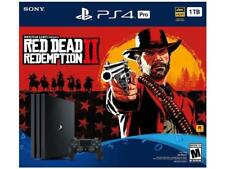 Sony PlayStation 4 Pro 1TB Red Dead Redemption 2 Bundle