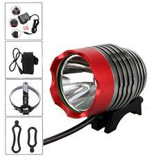 8000lumen XM-L T6 LED Foco Fronte Bicicletta bici Luce Ricaricabile Faro Lampada