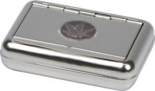 "Tabakdose ""Cannabis""/Clip 9.5x7cm NEU/OVP"