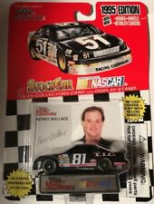 #81 KENNY WALLACE TIC 1995 FORD T-BIRD RACING CHAMPIONS VINTAGE RARE 1/64