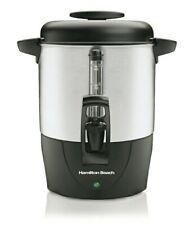 Hamilton Beach 40 Cup Coffee Urn and Hot Beverage Dispenser, Silver Model 40514R