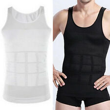 Men's Body Slimming Tummy Shaper Belly Underwear Waist Girdle Shirt Vest Eyeful