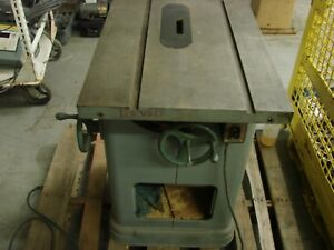 """DELTA TABLE SAW, HEAVY DUTY WOOD TABLE SAW, TABLE SIZE 27"""" X 20"""""""