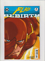 THE FLASH REBIRTH #1 DC 1st Print Cover A First Appearance of Godspeed CW NM