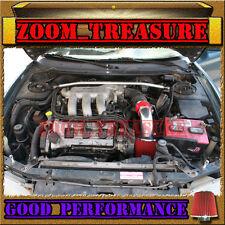 RED 1993-1997/93-97 FORD PROBE GT/MAZDA MX6 MX-6/626 2.5L V6 AIR INTAKE KIT