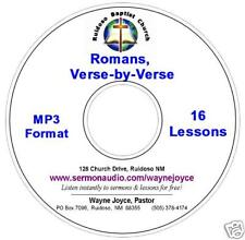 Joyce Romans Verse-by-Verse MP3 CD BIBLE STUDY 9+ HOURS