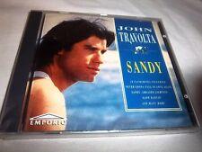 JOHN TRAVOLTA-SANDY EMPORIO EMPRCD524 UK NEW SEALED CD