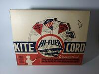 VINTAGE Hi-Flier Kite Cord Full Store Display NEW OLD STOCK
