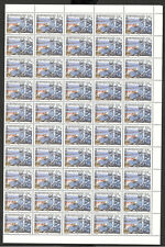 MONTENEGRO-MNH-SHEET OF 100 STAMPS-Cycling Race-2004.