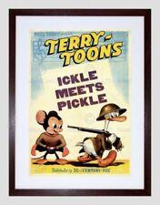 Contemporary (1980-Now) Cartoon Film Art Posters