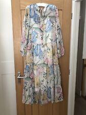 Floral de gasa Vestido de H&M talla 10