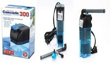 Penn Plax Cascade 300 Submersible Aquarium Filter Cleans Up to 10 Gallon...