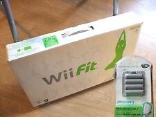 Nuevo Y Sellado OFICIAL NINTENDO WII FIT Balance Board + Juego completamente funciona en WiiU