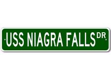 USS NIAGRA FALLS AFS 3 Street Sign - Navy