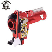 Tactical PRO CNC Aluminum Red Hop up Chamber with LED Airsoft AEG Ver.2 Gearboxs